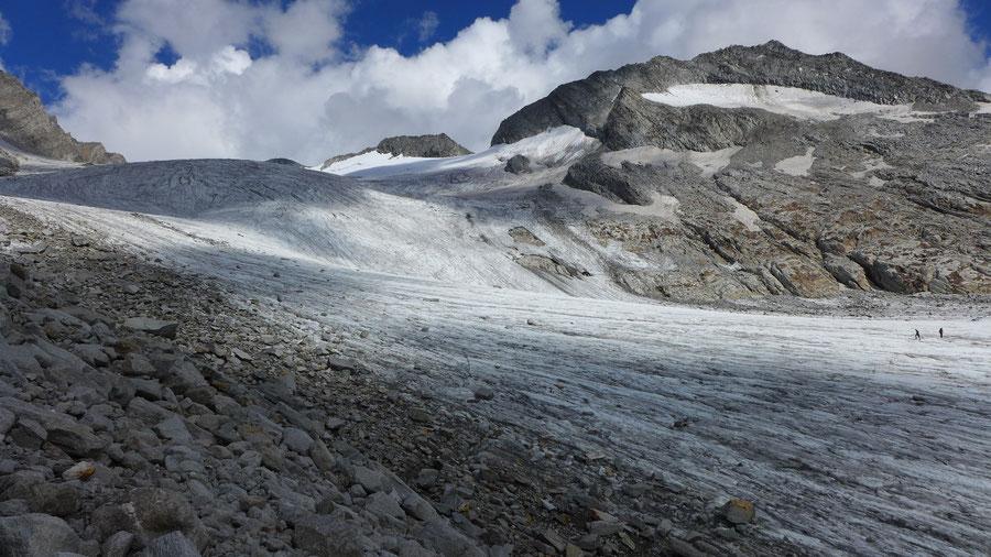 Hochfeiler - Gliderferner Steinschlag - Bergtour, Zillertaler Alpen, Südtirol, Edelrauthütte