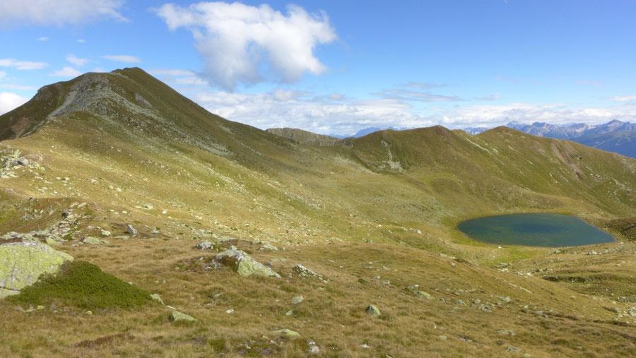 Pfunderer Höhenweg - Putzenhöhe und Grünbachsee - Wanderung, Pfunderer Berge, Südtirol