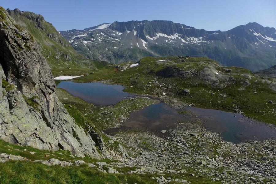 Sadnig-Höhenweg - Aufstieg zur Saustellscharte - Bergtour, Mölltaler Gletscher, Fraganter Hütte, Kärnten