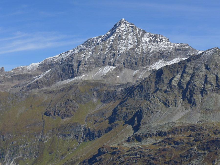 JWD Bergtouren Glocknergruppe Hocheiser mit Südgrat rechts