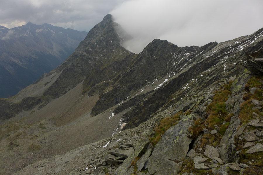 JWD Bergtouren Durreck Blick zum Großen Moosstock