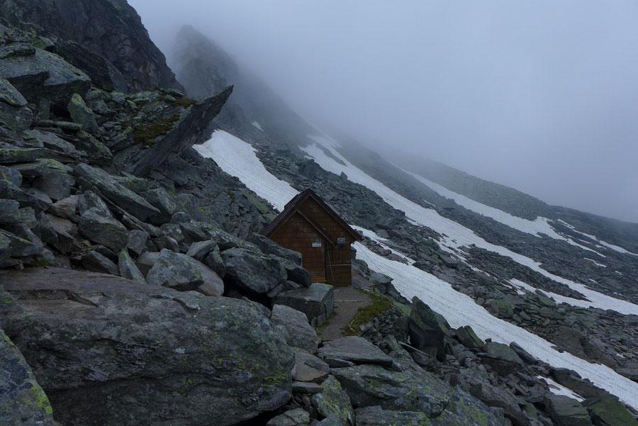 Albert-Biwak - Wanderung, Bergtour, Murtörl, Schmalzscharte - hochalpines Biwak