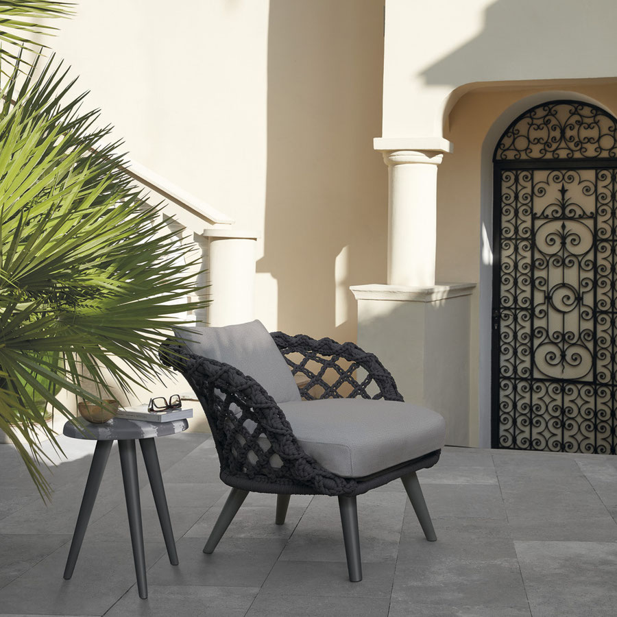stuahl balkonstuhl aus hochwertigemPVC für garten terrasse und Balkon Sifas Balkonmöbel