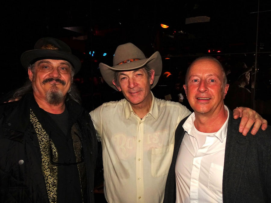 Dackel und Gerhard mit Doug Seegers beim Konzert in München 2016