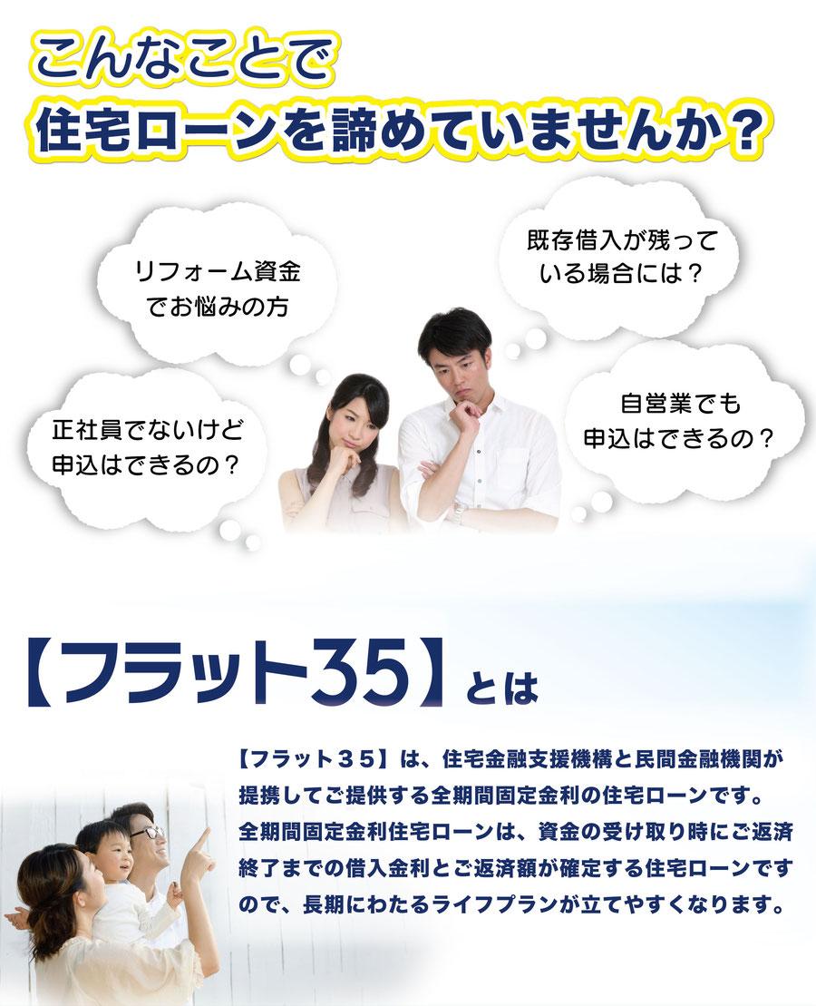 フラット35とは 固定金利 住宅ローン リライフ 岐阜県 大垣市