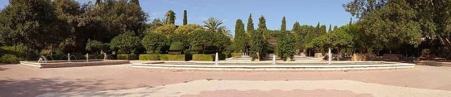 Zona de relax  Parque Benicalap, Valencia.