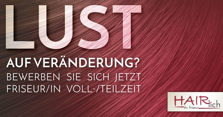 Hairlich Ihr Friseur Cuxhaven Altenbruch - Lust auf Veränderung - Stellenanzeige - Stellenangebot - Friseur Friseurin gesucht