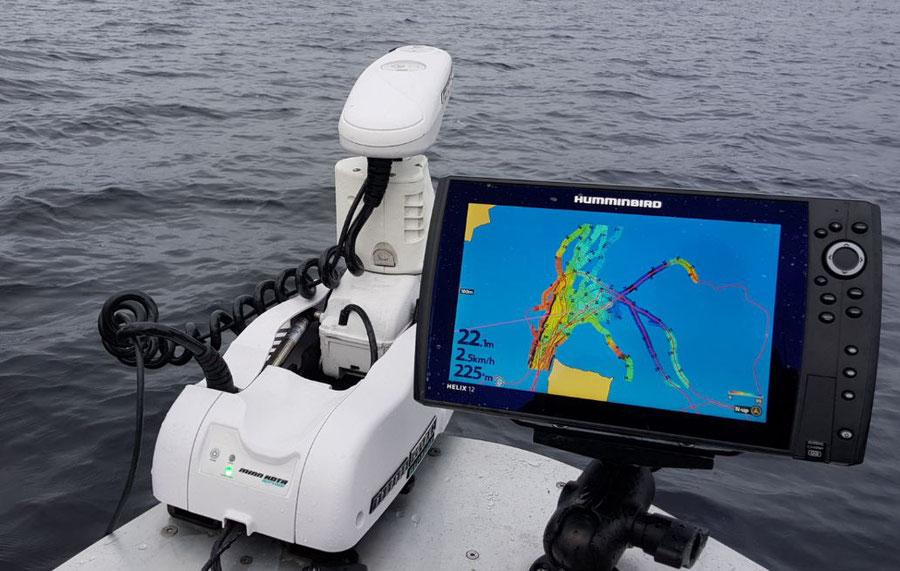 Unbekanntes Gewässer mit selbst erstellter AC Live Karte