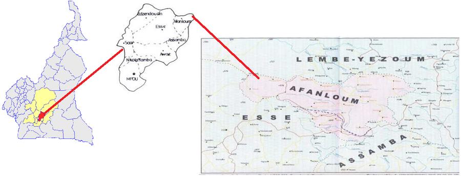 Afanloum Localisation