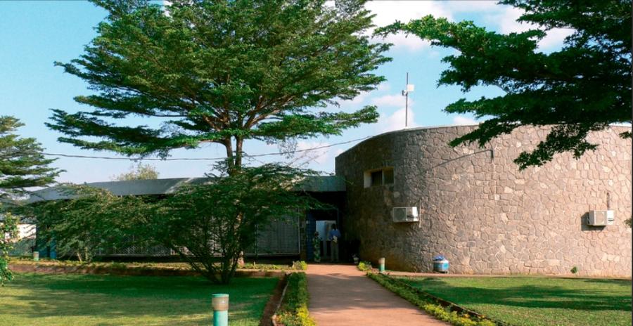 Une vue du Cuss, le Centre Universitaire des Sciences de la Santé ouvert en 1969