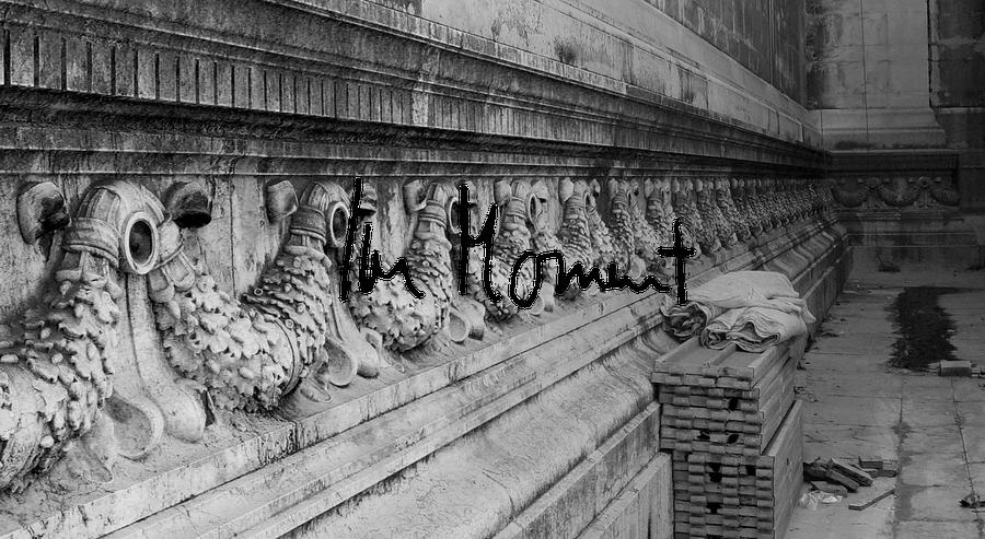 Römische Baustelle