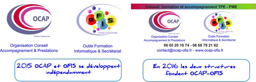 historiques de ocap et ofis entre 2015 et 2016