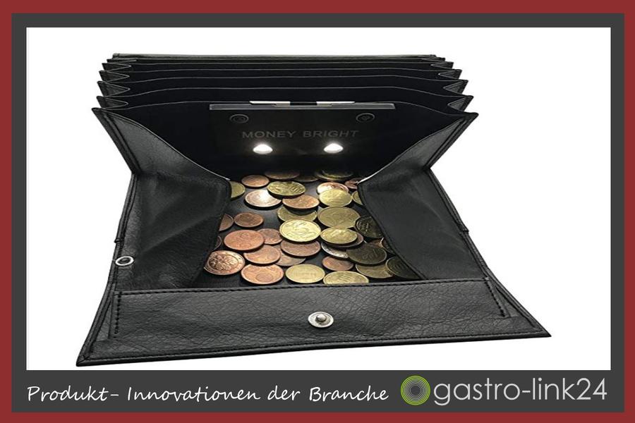 Beleuchtung Kellner Geldbörse