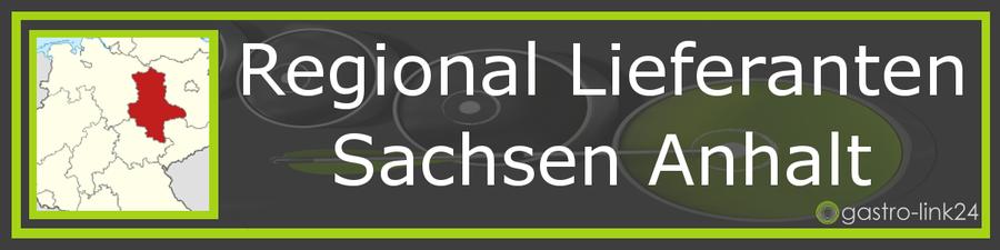 Regionale Lieferanten Sachsen Anhalt