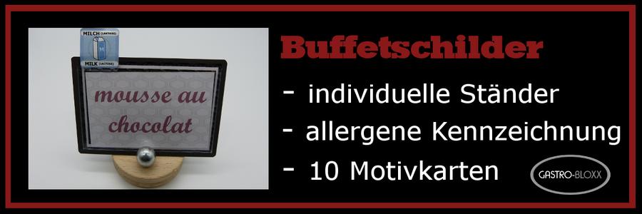 Buffetschilder