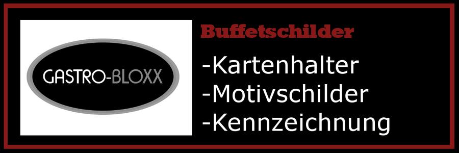 Buffet Kartenhalter