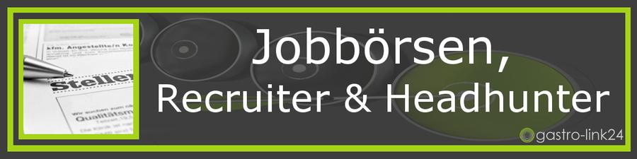 Job und Arbeit Gastronomie