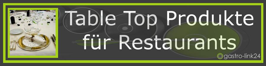 Table Top Produkte Restaurant