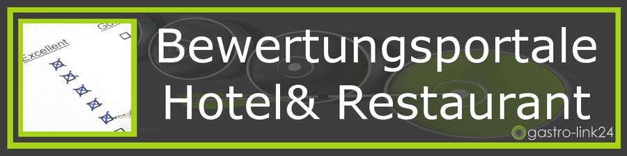 Übersicht aller Hotel- und Restaurant Bewertungsportale