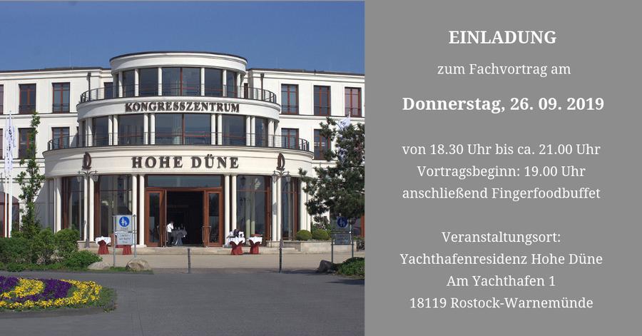 Fachvortrag Rostock Yachthafenresidenz