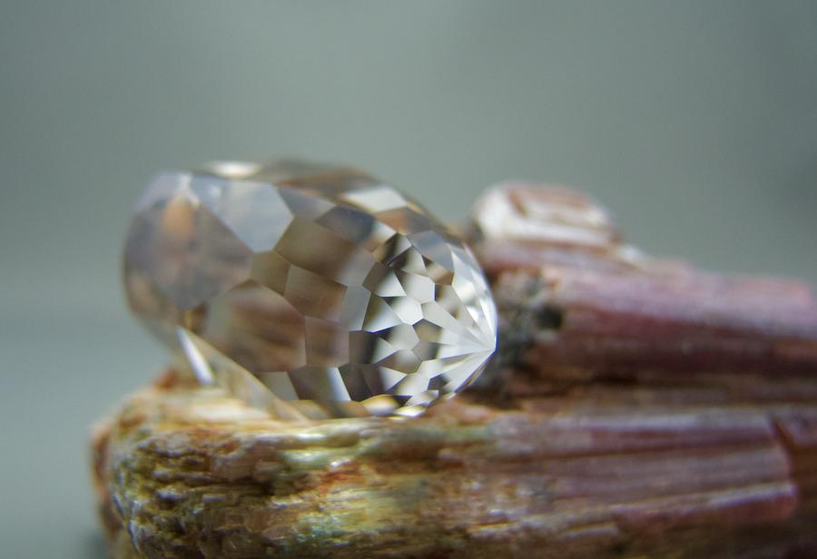 Bergkristall Facettiert