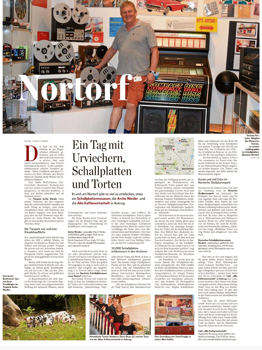 Hamburger Abendblatt vom 16.08.2021