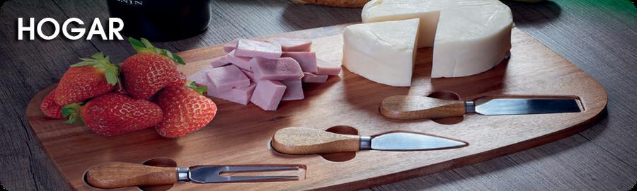 asador, tabla y cuchillos, tabla para picar, asador promocional, guante para cocina, mandil de cocina, Promocionales Alexa