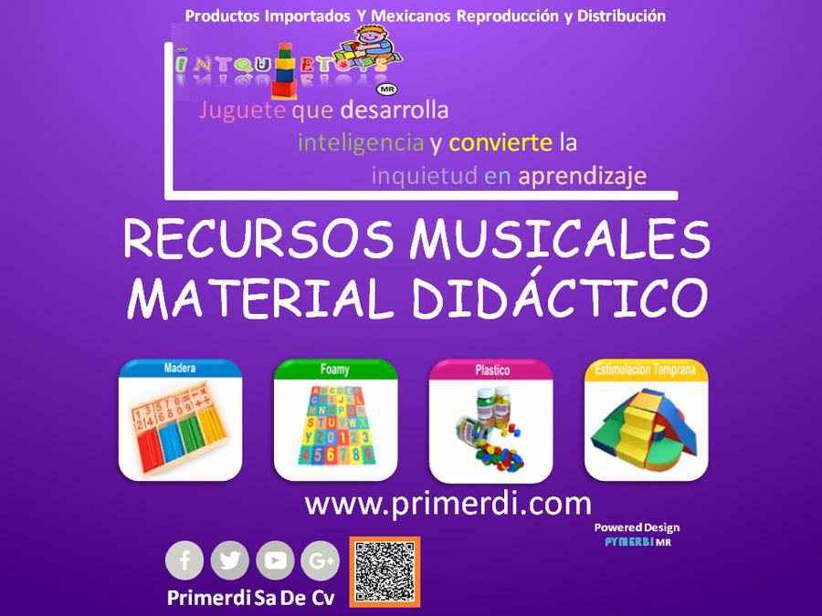 Recursos musicales en material didactico intquietoys primerdi.com