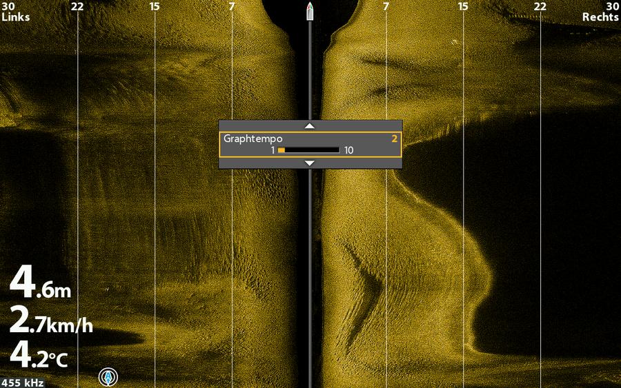 Einstellen der Bildlaufgeschwindigkeit: Ein wichtiges Detail