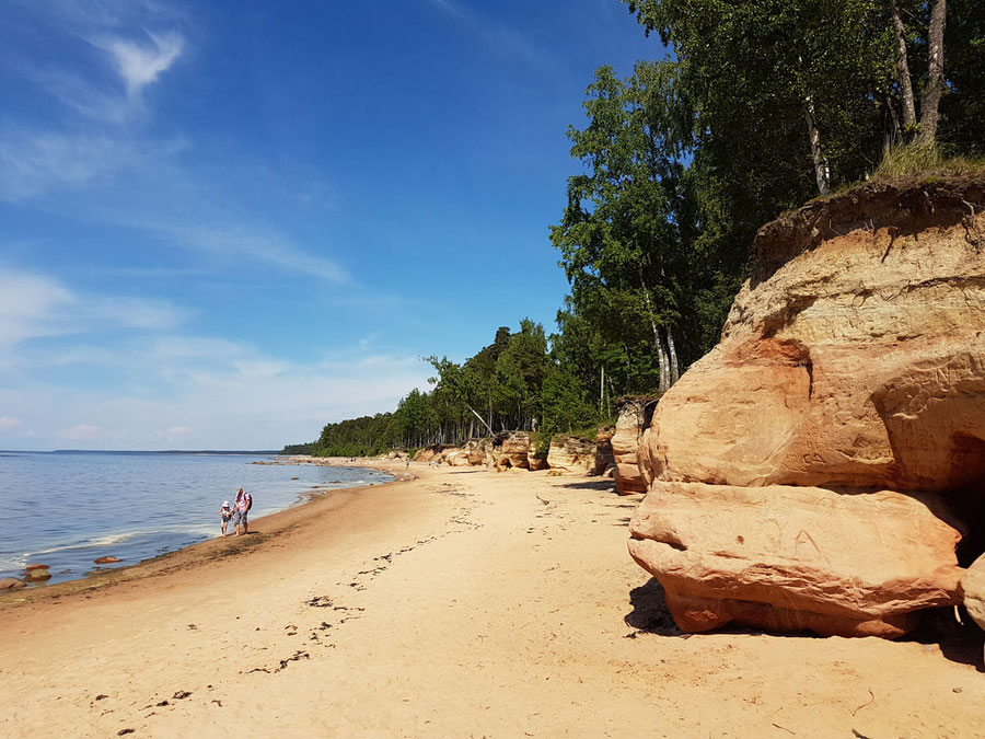 Visit Latvia, hiking along Baltic sea, sandy beaches and pristine nature