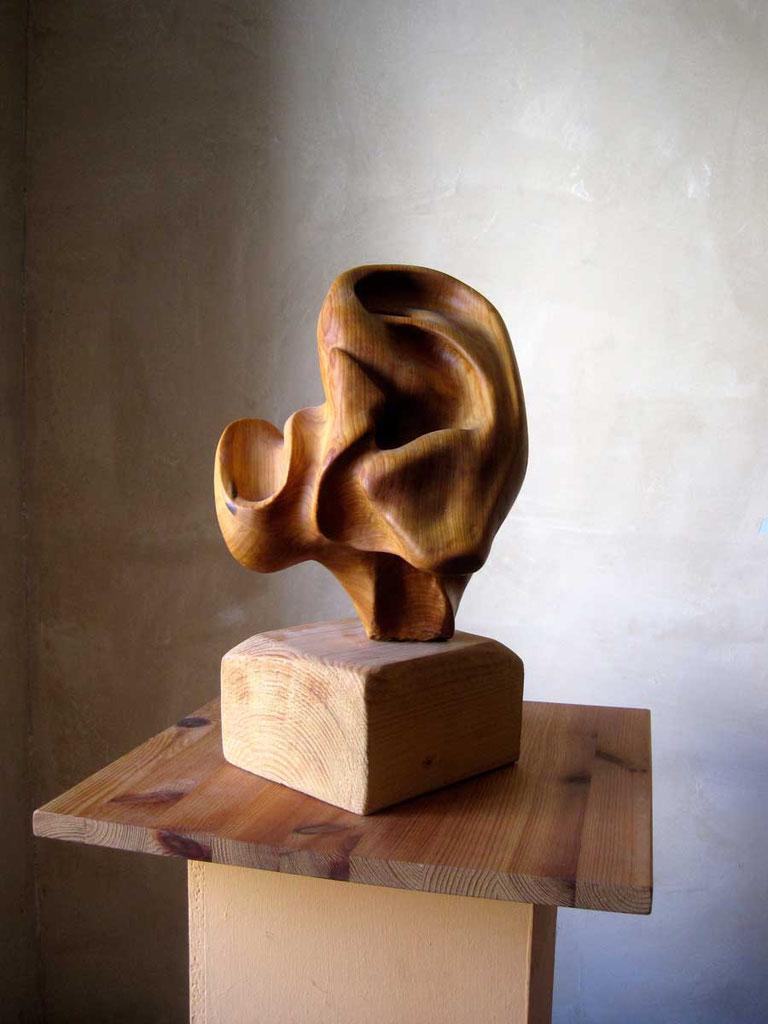 Gemeinsame skulptur von Ibrahim Alawad und Marcus Löhrer
