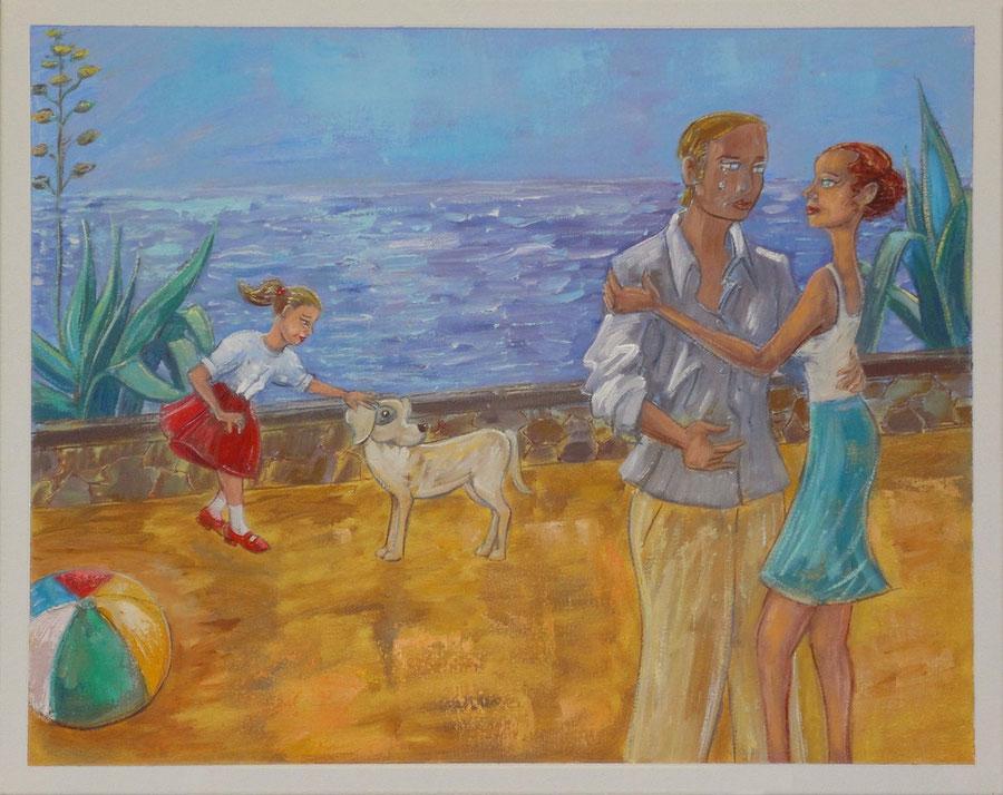 Het komt heus wel goed, 50-40 cm, oil on canvas