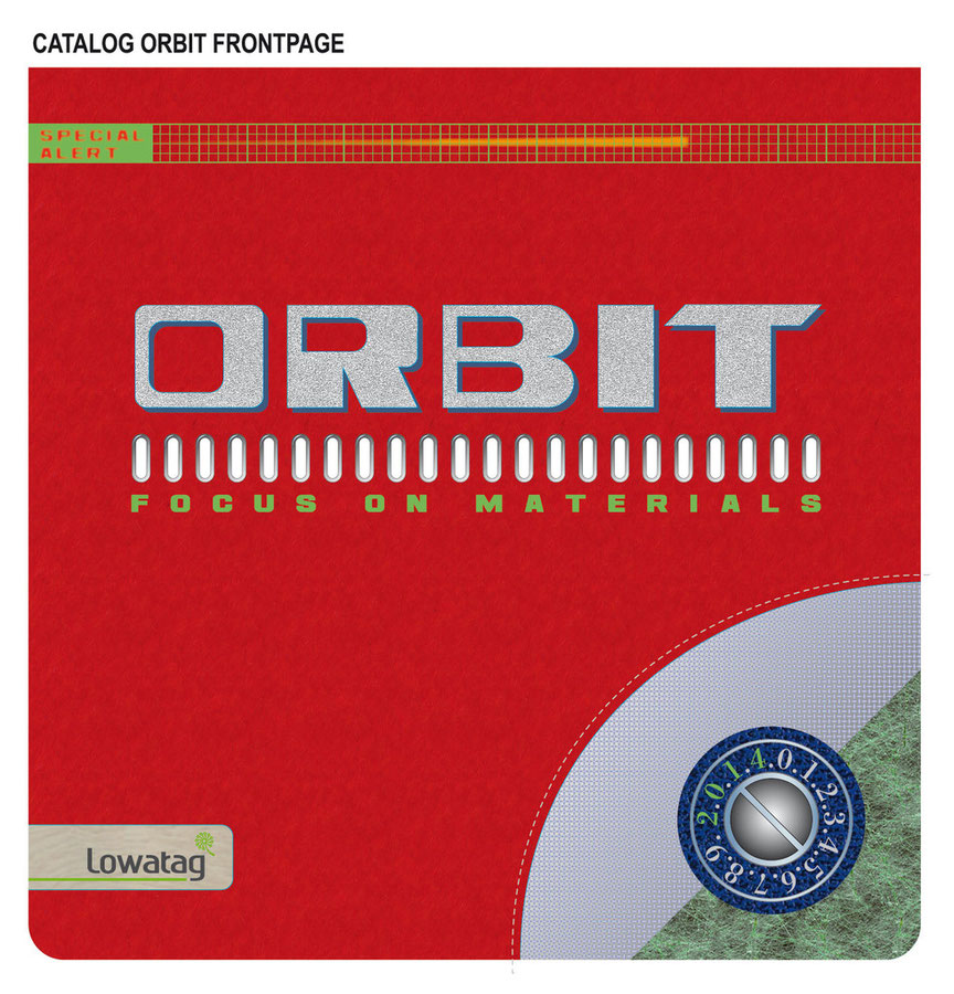 ORBIT COLLECTION LABELS COVER