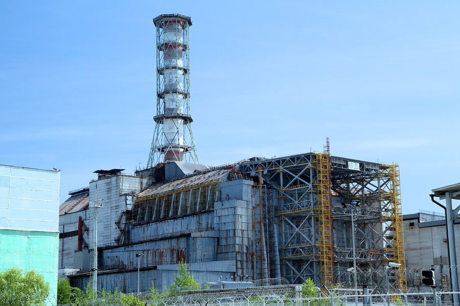 Sarkophag von Reaktor Nr. 4