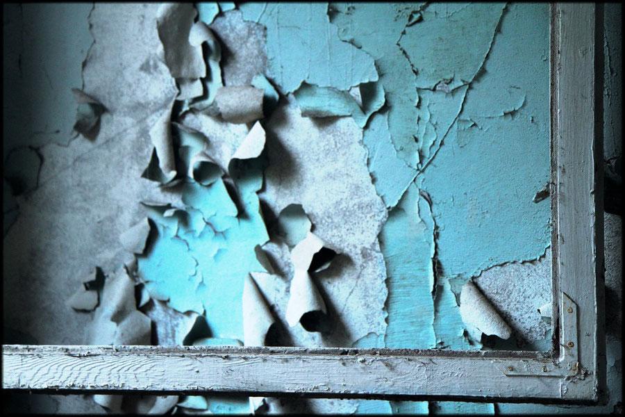 Fensterrahmen als Bilderrahmen