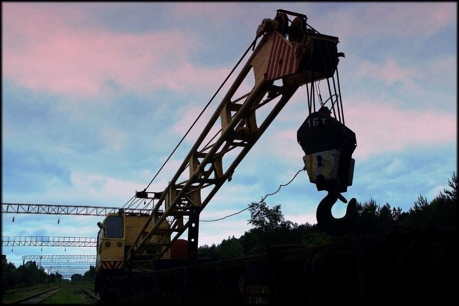 16-Tonnen-Kranwagen