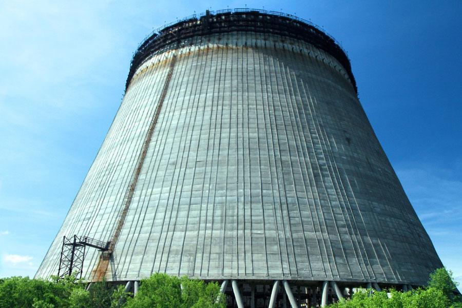 Kühlturm für die Reaktoren Nr. 5 und 6