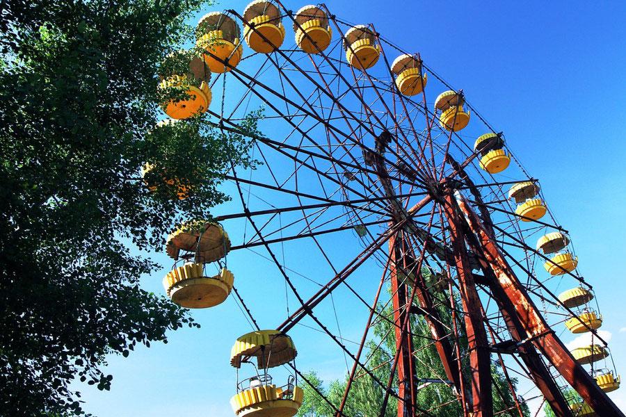 Das berühmte Riesenrad