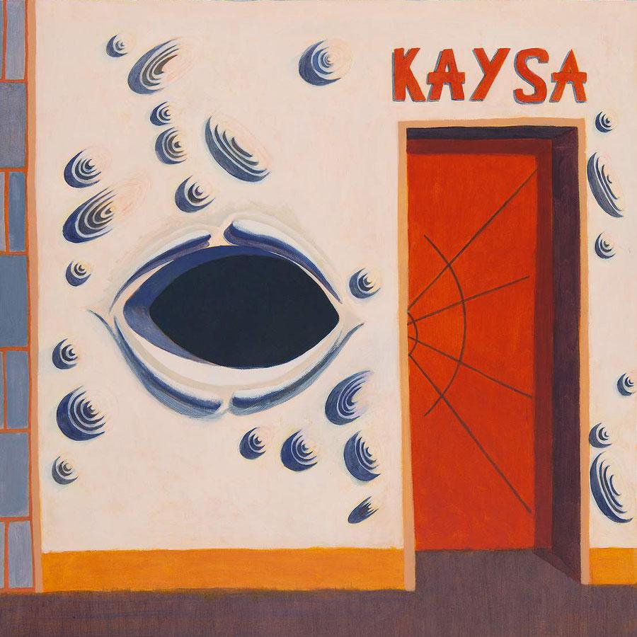 Kaysa,  100x70cm, acrílico sobre papel.