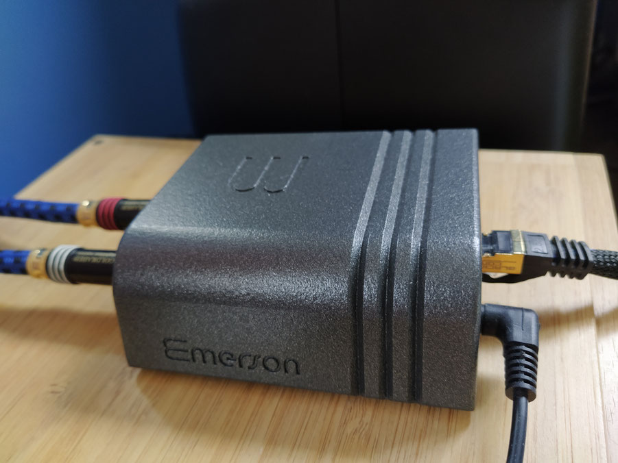 Streamer Wattson Audio Emerson Analog - Goldkabel