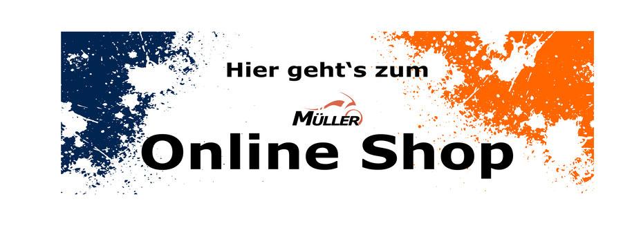 Unser Onlineshop ist immer geöffnet.
