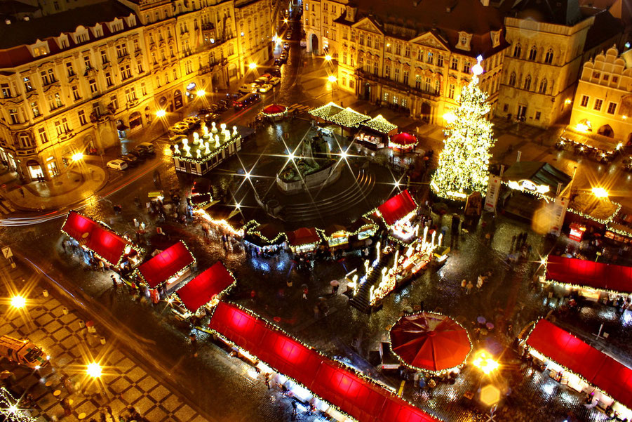 Christmas Market in Prague Copyright  Vlasta Juricek