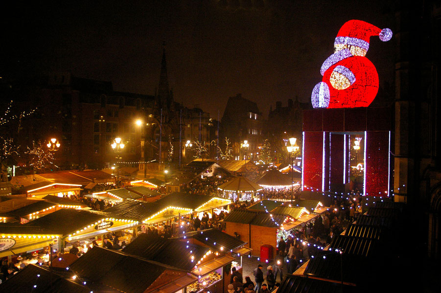 Manchester Christmas Market  - Copyright Manchester City Council