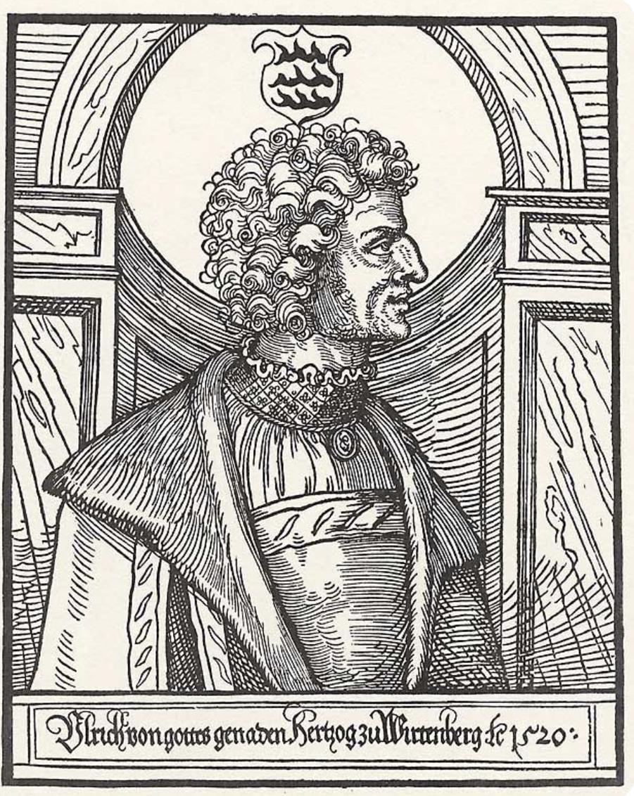 Portrait d'Ulrich de Wurtemberg