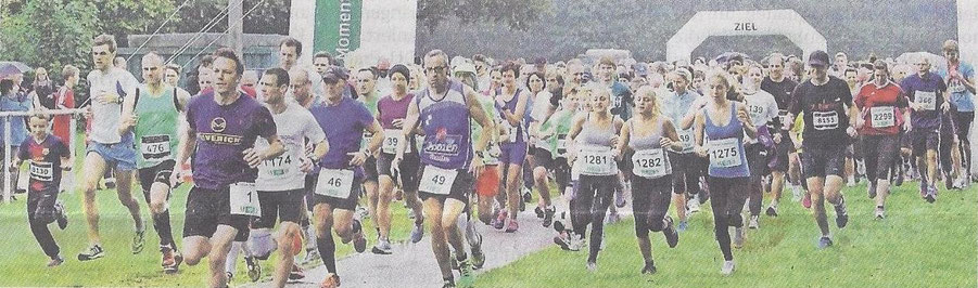 718 Läuferbedeuten einen neuen Teilnehmerrekord am Gesundheitslauf.  Foto: HELIOS