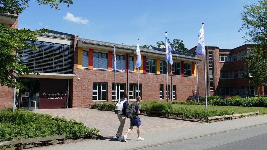 Die Comenius-Schule bietet den Viertklässlern wie auch die Gymnasien Informationen in diesem Jahr digital