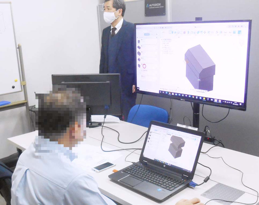 CADCIL Fusion360基礎【製造業向け】 個別講座 京都府 マンツーマンレッスン
