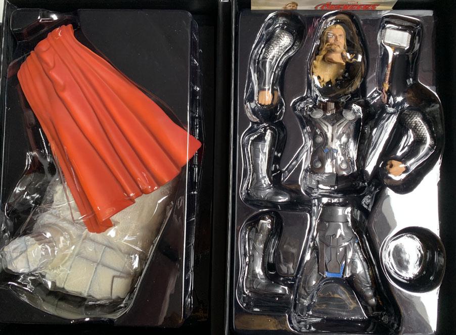 Thor 1/9 Avengers Age of Ultron Marvel Action Hero Vignette Statue 20cm Dragon Toy