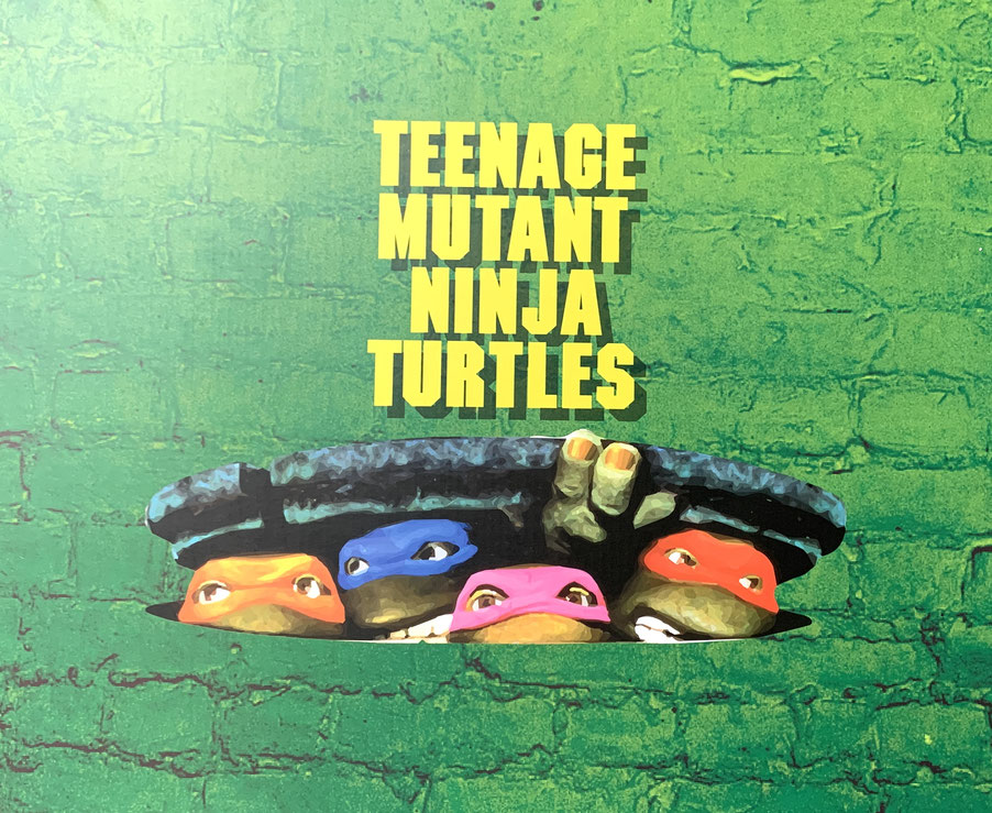 Teenage Mutant Ninja Turtles 1990 1/4 Statuen Sideshow Exclusive Set (4) Raphael, Leonardo, Donatello, Michelangelo Prime 1 Studio