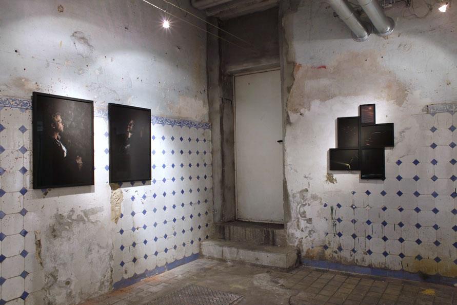 """Ausstellungsansicht 2018 """"Blickwechsel"""", xponart galerie, Hamburg"""